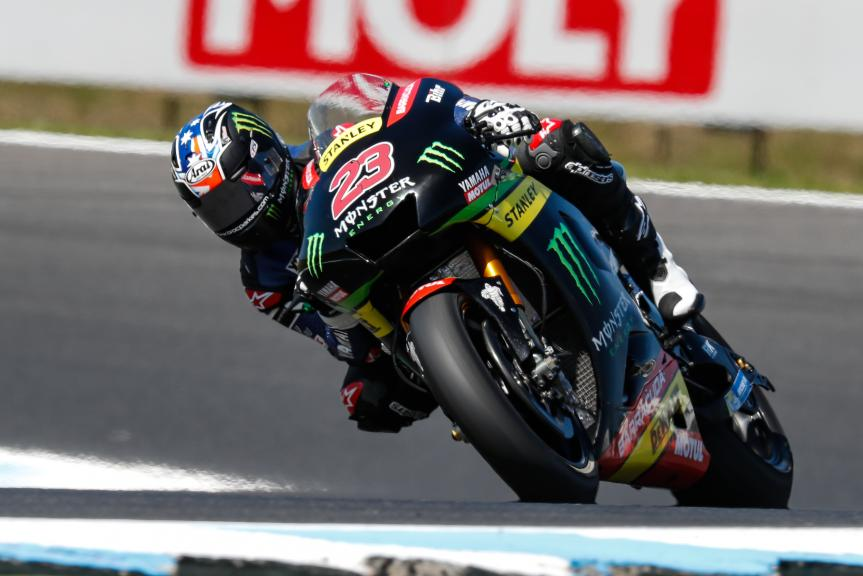Brock Parkes, Monster Yamaha Tech 3, Michelin® Australian Motorcycle Grand Prix