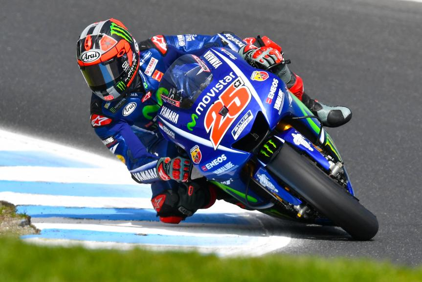 Maverick Viñales, Movistar Yamaha MotoGP, Michelin® Australian Motorcycle Grand Prix