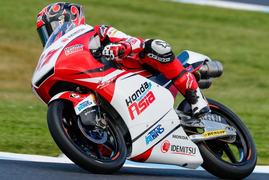 Kaito Toba, Honda Team Asia, Michelin® Australian Motorcycle Grand Prix