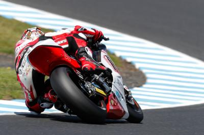 Nakagami ahead of the game in FP1