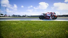 Takaaki Nakagami was quickest on the first day of running at Phillip Island, with Morbidelli and Lüthi 5th and 8th respectively