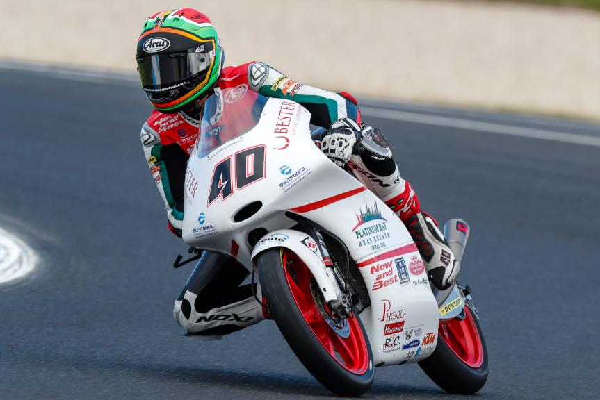 Darryn Binder, Platinum Bay Real Estate, Michelin® Australian Motorcycle Grand Prix
