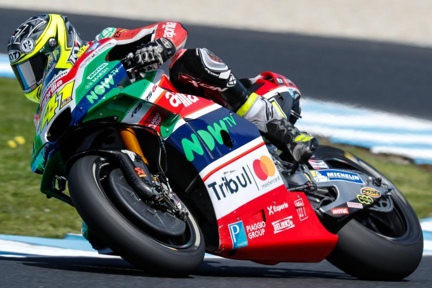 Aleix Espargaro, Aprilia Racing Team Gresini, Michelin® Australian Motorcycle Grand Prix