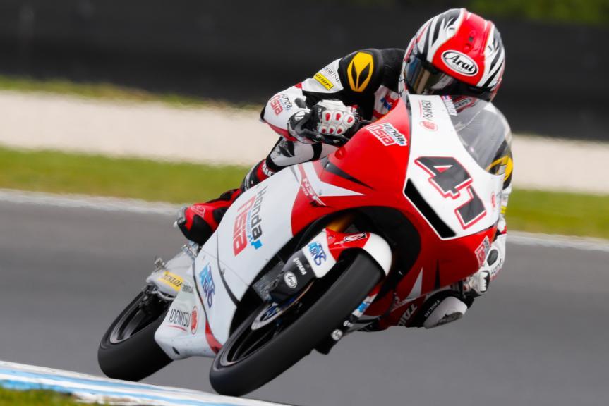 Nakarin Atiratphuvapat, Honda Team Asia, Michelin® Australian Motorcycle Grand Prix
