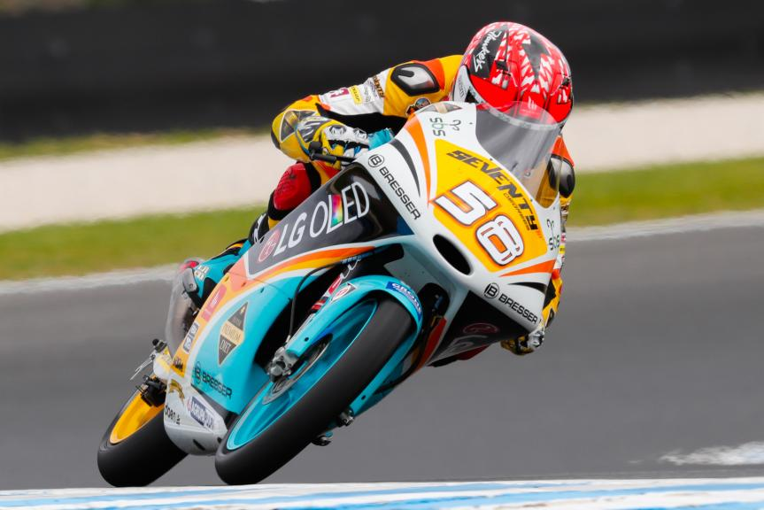 Juanfran Guevara, RBA BOE Racing Team, Michelin® Australian Motorcycle Grand Prix