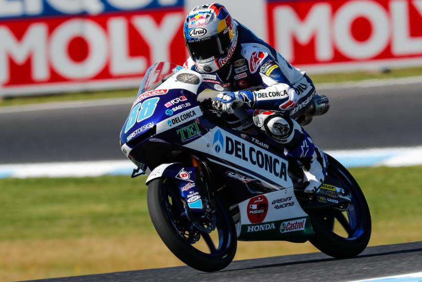 Jorge Martin, Del Conca Gresini Moto3, Michelin® Australian Motorcycle Grand Prix