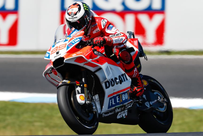 Jorge Lorenzo, Ducati Team, Michelin® Australian Motorcycle Grand Prix