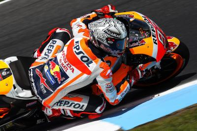 Marquez off to a flier on the Island