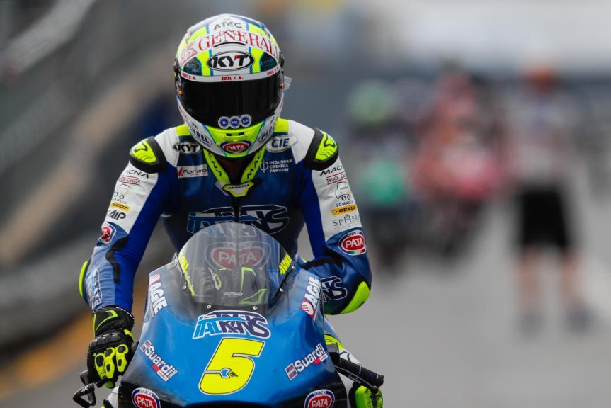Andrea Locatelli, Italtrans Racing Team, Michelin® Australian Motorcycle Grand Prix