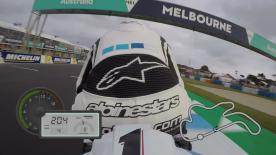 Jump on-board for a lap of the Australian circuit, filmed exclusively using GoPro cameras.