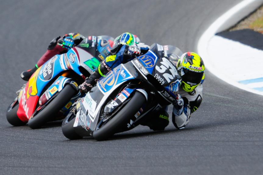 Isaac Vinales, SAG Team, Franco Morbidelli, EG 0,0 Marc VDS, Michelin® Australian Motorcycle Grand Prix