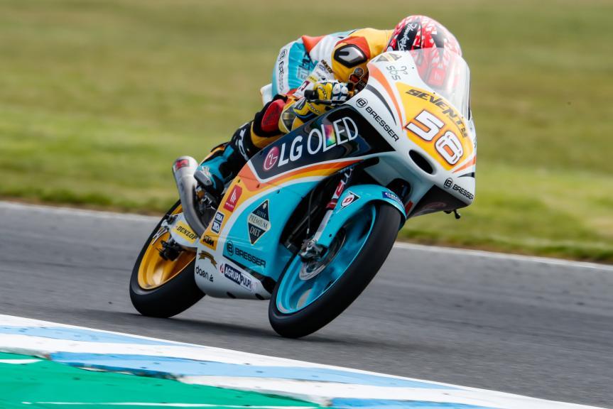 Juanfran Guevara, RBA BOE Racing Team, Michelin® Australian Motorcycle Grand Prix