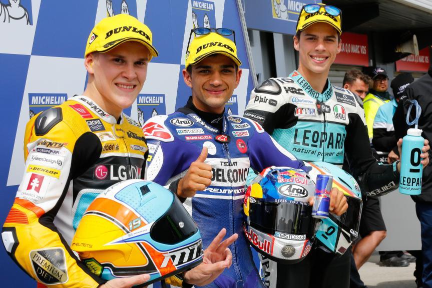 Jorge Martin, Gabriel Rodrigo, Joan Mir, Michelin® Australian Motorcycle Grand Prix
