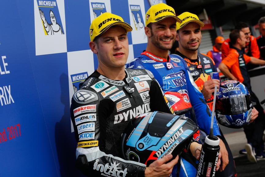 Mattia Pasini, Marcel Schrotter, Miguel Oliveira, Michelin® Australian Motorcycle Grand Prix