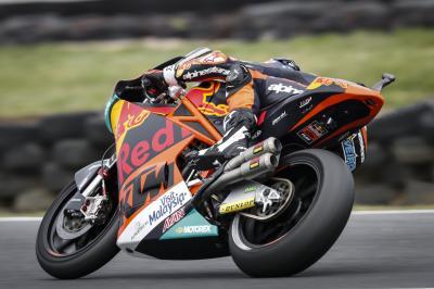 Oliveira survole la FP3 en Australie