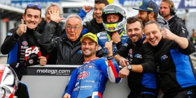 Pasini steps up for pole Down Under