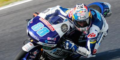 Martin masters the Island for pole number eight