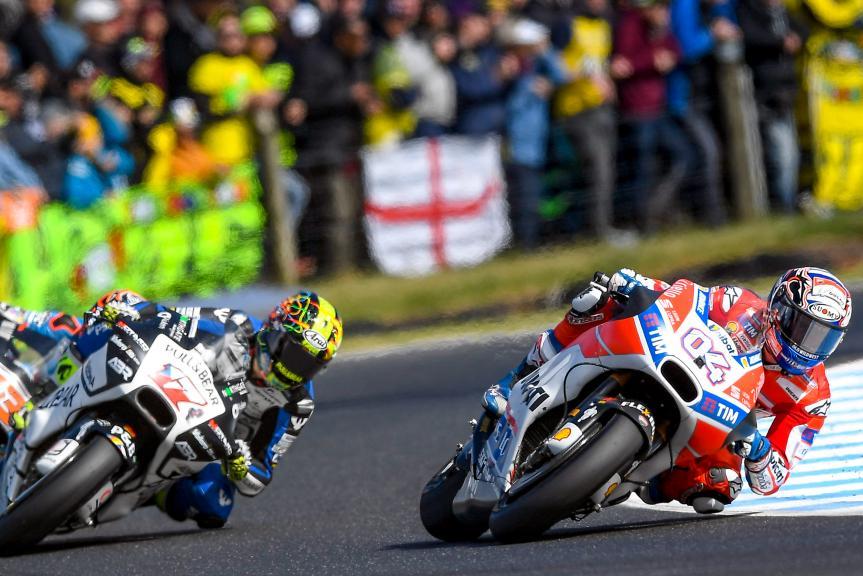 Andrea Dovizioso, Ducati Team, Karel Abraham, Pull&Bear Aspar Team, Michelin® Australian Motorcycle Grand Prix