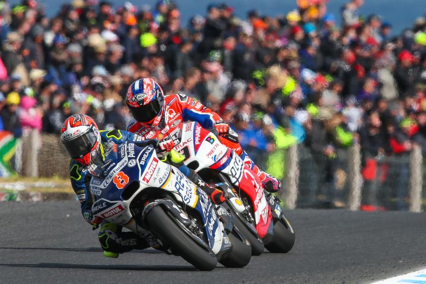 Hector Barbera, Reale Avintia Racing, Danilo Petrucci, Octo Pramac Racing, Michelin® Australian Motorcycle Grand Prix