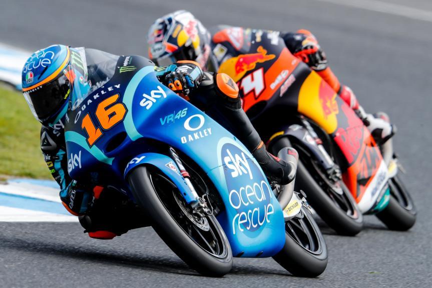 Andrea Migno, Sky Racing Team VR46, Bo Bendsneyder, Red Bull KTM Ajo, Michelin® Australian Motorcycle Grand Prix