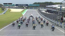 The full race session at the #AustralianGP of the Moto3? World Championship.