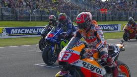 All the action from the full race session of the MotoGP? World Championship at the #AustralianGP.