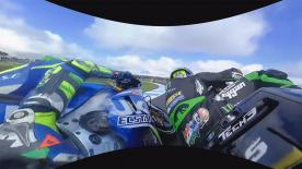 Watch the incredible battle between Zarco, Iannone and Rossi from the Monster Yamaha Tech 3's 360 OnBoard camera