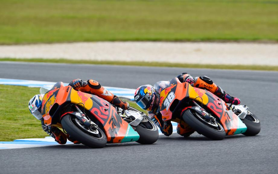 Bradley Smith, Pol Espargaro, Red Bull KTM Factory Racing, Michelin® Australian Motorcycle Grand Prix