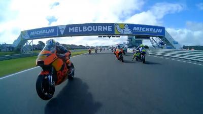 #AustralianGP : Le départ en Multi-OnBoard