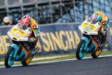 Juanfran Guevara, Gabriel Rodrigo, RBA BOE Racing Team, Michelin® Australian Motorcycle Grand Prix