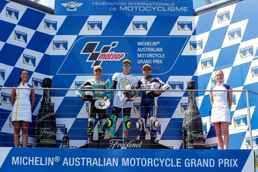 Joan Mir, Livio Loi, Jorge Martin, Michelin® Australian Motorcycle Grand Prix