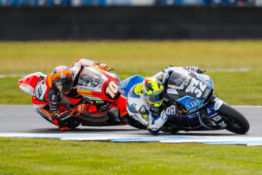 Isaac Vinales, SAG Team, Luca Marini, Forward Racing Team, Michelin® Australian Motorcycle Grand Prix