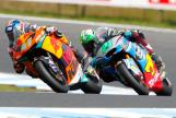 Brad Binder, Red Bull KTM Ajo, Franco Morbidelli, EG 0,0 Marc VDS, Michelin® Australian Motorcycle Grand Prix