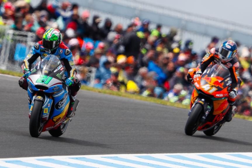 Franco Morbidelli, EG 0,0 Marc VDS, Brad Binder, Red Bull KTM Ajo, Michelin® Australian Motorcycle Grand Prix