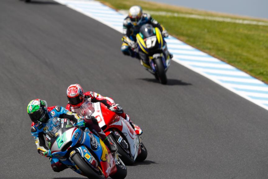Franco Morbidelli, EG 0,0 Marc VDS, Takaaki Nakagami, Idemitsu Honda Team Asia, Michelin® Australian Motorcycle Grand Prix