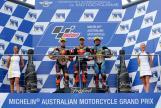 Miguel Oliveira, Brad Binder, Franco Morbidelli, Michelin® Australian Motorcycle Grand Prix