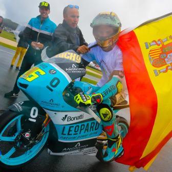 Mir nach weiterem Sieg Moto3™ Weltmeister