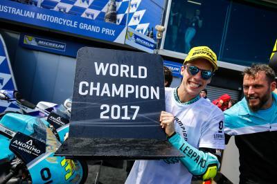 Mir, Campeón del Mundo de Moto3™ con victoria en la isla