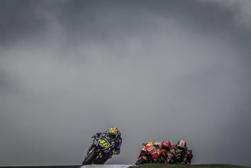 Valentino Rossi, Marc Marquez, Michelin® Australian Motorcycle Grand Prix