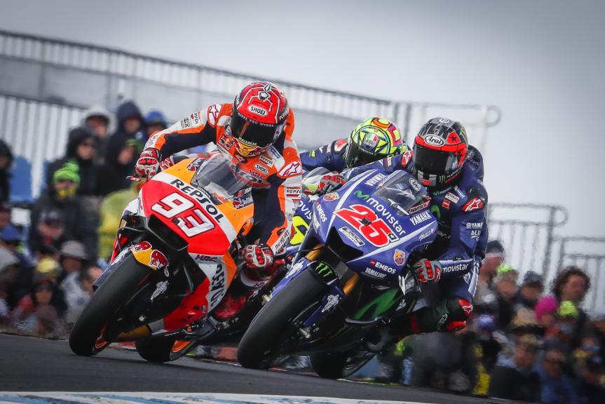 Marc Marquez, Maverick Viñales, Michelin® Australian Motorcycle Grand Prix
