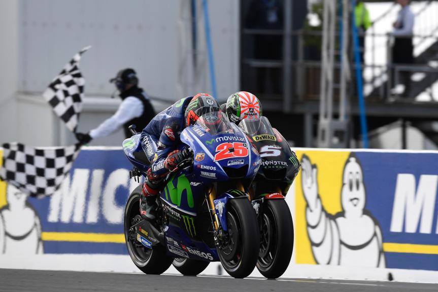 Maverick Viñales, Movistar Yamaha MotoGP, Johann Zarco, Monster Yamaha Tech 3, Michelin® Australian Motorcycle Grand Prix