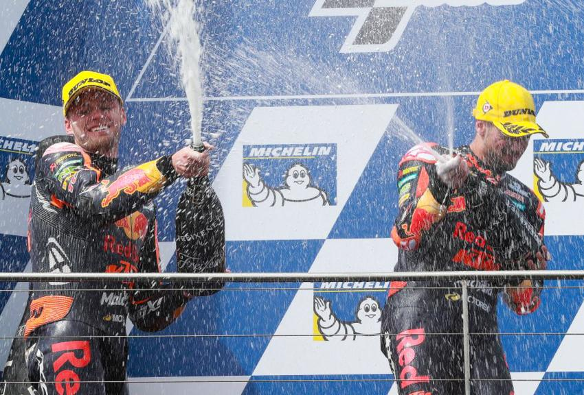 Miguel Oliveira, Brad Binder, Red Bull KTM Ajo, Michelin® Australian Motorcycle Grand Prix