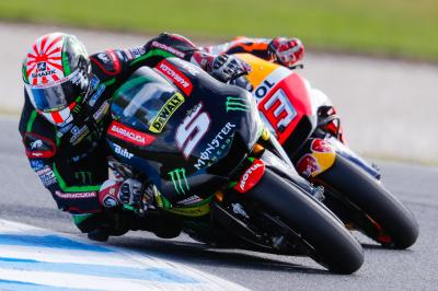 Zarco: 'I'm so happy I could fight for victory'