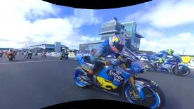Re-live the Frenchman's race at the stunning Phillip Island Circuit in 360 OnBoard!