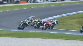 An explanation of some of the most remarkable overtakes that took place at the #AustralianGP.