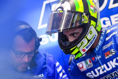 "Iannone: ""I try my best on every lap"""