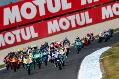 Sepang: Moto3™ bereitet sich auf den Showdown vor