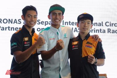 SIC Racing Team: Moto3™ riders remain, Syahrin in Moto2™