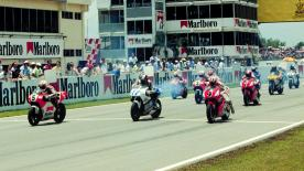 Relive the classic Malaysian Grand Prix at the Shah Alam Circuit in 1994.