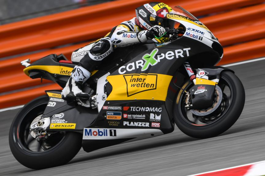 Thomas Luthi, Carxpert Interwetten, Shell Malaysia Motorcycle Grand Prix